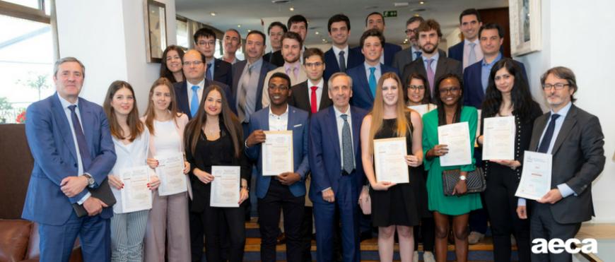 AECA celebra sus Entregas anuales de Premios y Becas 2018