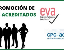 Nueva promoción de Expertos Acreditados por AECA