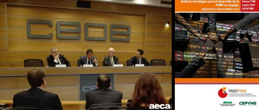 Presentación del Informe Pyme España 2018: Digitalización y RSC