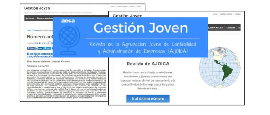 """Renovación del Consejo Editorial y sistema de publicación continua de la revista """"Gestión Joven"""""""