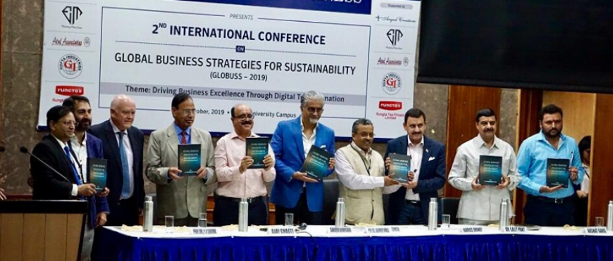 AECA participa en el Global Business Strategies for Sustainability (GLOBUSS – 2019) celebrado en la India