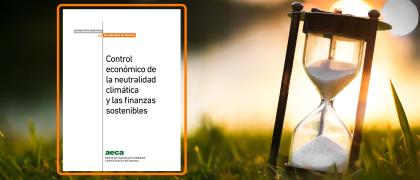 Nuevo Documento: Control económico de la neutralidad climática y las finanzas sostenibles