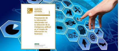 Presentación de la información relacionada con la utilización de la inteligencia artificial en el EINF