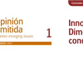 Opinión emitida: «Innovación: Dimensión Conceptual»