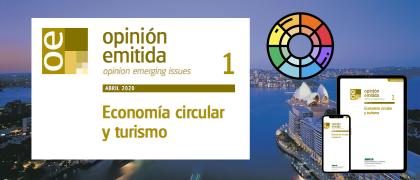 """Opinión emitida: """"Economía circular y turismo"""""""