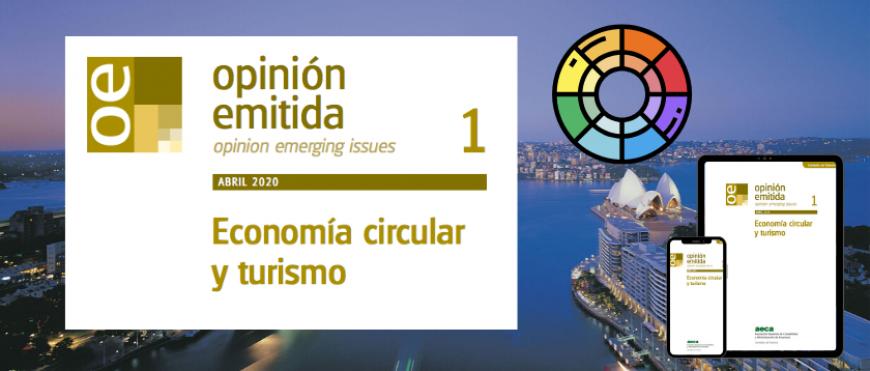 Opinión emitida: «Economía circular y turismo»