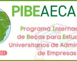 Lanzamos con éxito la nueva edición del Programa Internacional de Becas «PIBE AECA»