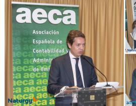 Naturgy y Sacyr ganadores del  XVIII Premio AECA a la Transparencia Empresarial