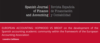 EUROPEAN ACCOUNTING: HOPWOOD VS BREXIT