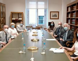 """Reunión con el Presidente del ICAC – Proyecto """"Información Sectorial ASG"""""""