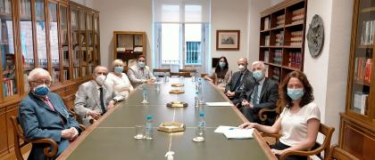 """Reunión con el Presidente del ICAC - Proyecto """"Información Sectorial ASG"""""""