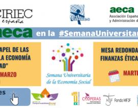 Participamos en la 2ª semana universitaria sobre Economía Social